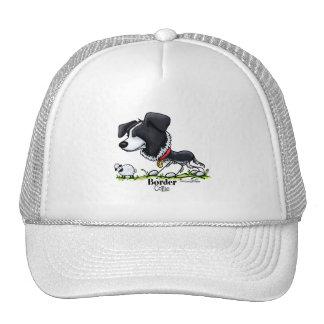 Reuniendo el perro - gorra del border collie