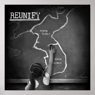 Reunify Poster - DMZ//38 Album Cover