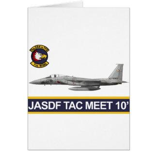 reunión 2010 del aire del 飛行隊戦競塗装 2010 JASDF Tac d Felicitación