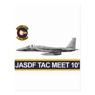 reunión 2010 del aire del 飛行隊戦競塗装 2010 JASDF Tac Postales