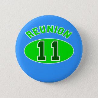Reunion 2011 in Green Pinback Button