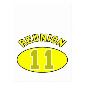 Reunion 2011 in Yellow Postcard