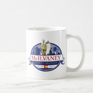 Reunión 2014 de McIlvaney - taza de café de Denver