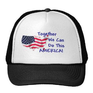 Reunión América Gorras