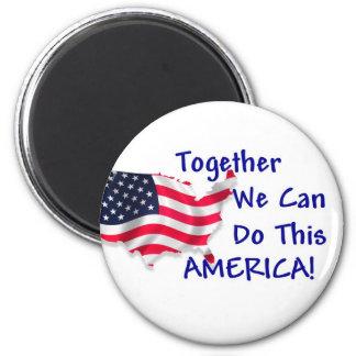 Reunión América Imanes De Nevera