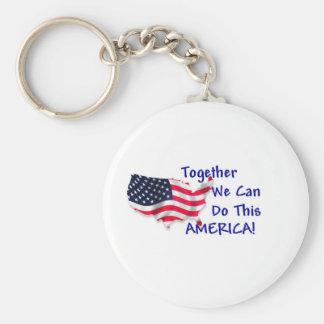 Reunión América Llaveros Personalizados