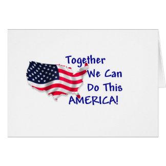 Reunión América Tarjeta