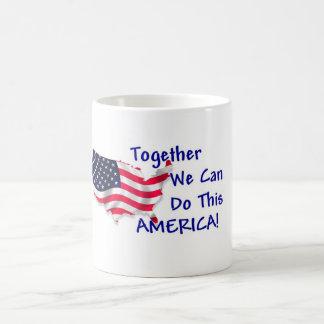 Reunión América Tazas De Café