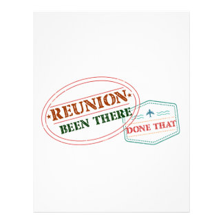 Reunion Been There Done That Letterhead