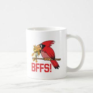Reunión BFFS Taza Básica Blanca