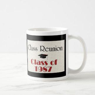 Reunión de antiguos alumnos 1987 taza de café