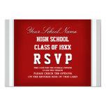 Reunión de antiguos alumnos adaptable RSVP Invitaciones Personalizada