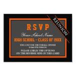 Reunión de antiguos alumnos formal con clase RSVP Anuncio