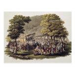Reunión de campo de los Methodists en el norte Postales