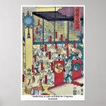 Reunión de dioses en Izumo por Utagawa, Sadahide Posters