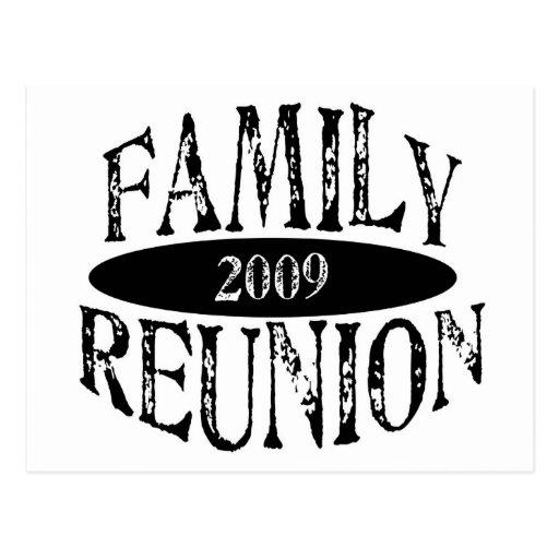 Reunión de familia 2009 postal