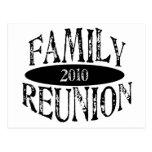 Reunión de familia 2010 postal