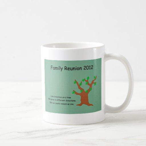 Reunión de familia 2012 taza clásica