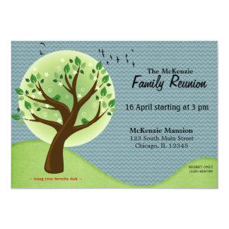 """Reunión de familia de la primavera invitación 5"""" x 7"""""""