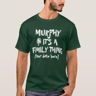 Reunión de familia de Murphy Playera