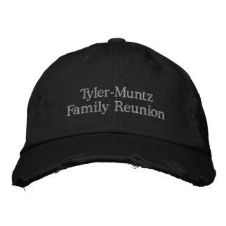 Reunión de familia de Tyler-Muntz Gorras De Beisbol Bordadas