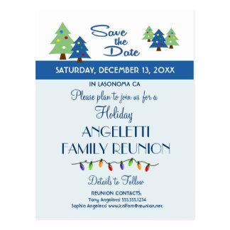 Reunión de familia del día de fiesta, fiesta, tarjetas postales