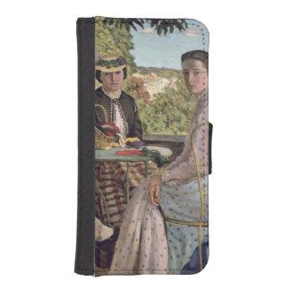 Reunión de familia, detalle de dos mujeres, 1867 fundas tipo cartera para iPhone 5
