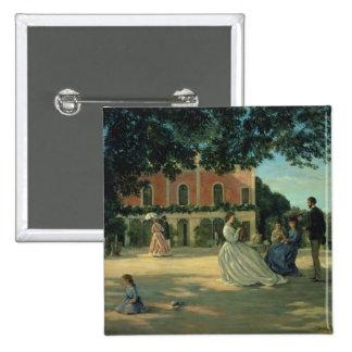 Reunión de familia en la terraza en Meric, 1867 Pins