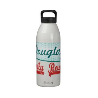 Reunión de familia retra del vintage botellas de agua reutilizables