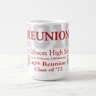 Reunión de Gibson 40.o del fuerte Taza