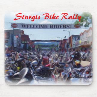 Reunión de la bici de Sturgis Alfombrillas De Ratón