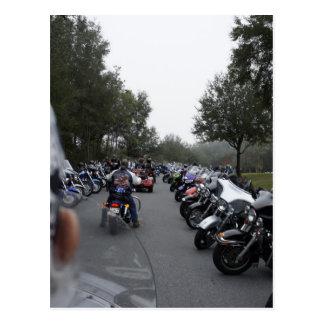 Reunión de la bici postal