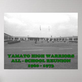 Reunión de la High School secundaria de Yamato Póster