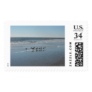 Reunión de la mañana timbres postales