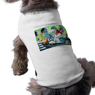 Reunión de la vespa - Yeti y monstruos Camisas De Mascota