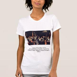 Reunión de los oficiales camiseta