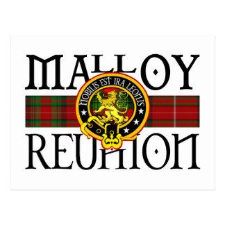 Reunión de Malloy Postales