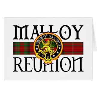 Reunión de Malloy Tarjeta De Felicitación