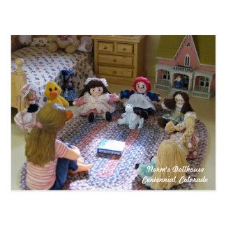 Reunión de muñecas minúsculas: ¿Cuál ES un Postales