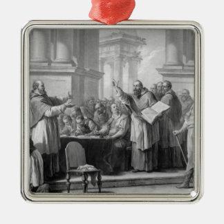 Reunión de St Augustine y del Donatists Adorno Para Reyes