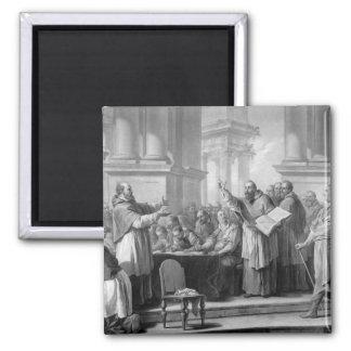 Reunión de St Augustine y del Donatists Imán Cuadrado