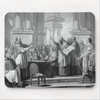Reunión de St Augustine y del Donatists Mouse Pad