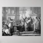 Reunión de St Augustine y del Donatists Posters