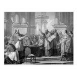 Reunión de St Augustine y del Donatists Tarjetas Postales