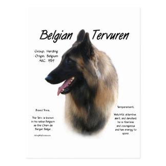 Reunión de Tervuren del belga la raza Tarjeta Postal