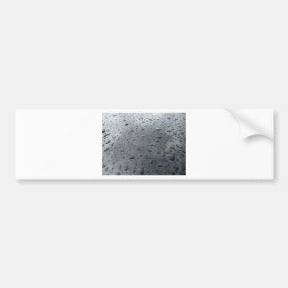 Reunión del agua pegatina de parachoque