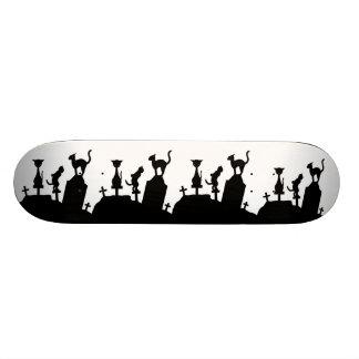Reunión del cementerio tablas de skate