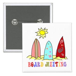 Reunión del Consejo de resaca Pins