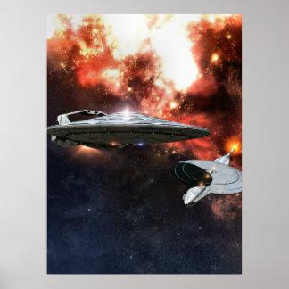 reunión del espacio posters