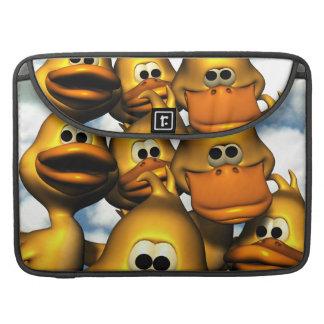 Reunión del pato fundas para macbooks